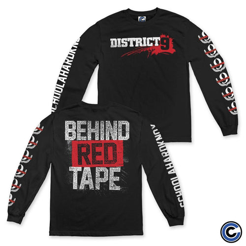 "District 9 ""Behind Red Tape"" Long Sleeve"