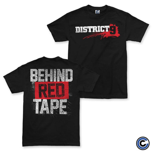 "Buy Now – District 9 ""Behind Red Tape"" Shirt – Cold Cuts Merch"