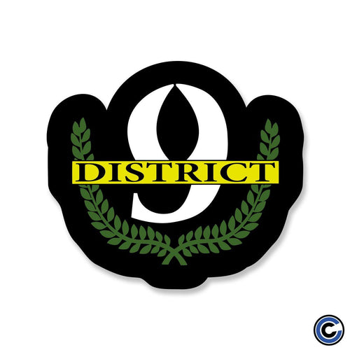 "District 9 ""Laurels"" Sticker"
