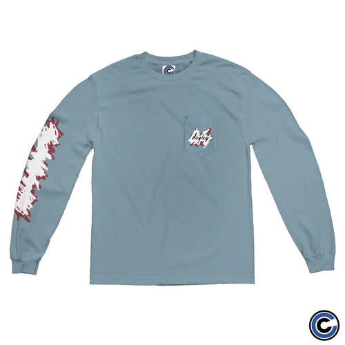 "Dogleg ""Scribble Pocket"" Long Sleeve"