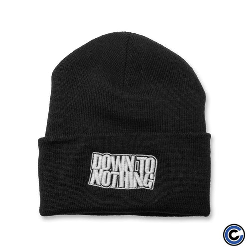 "Buy Now – Down To Nothing ""Logo"" Beanie – Cold Cuts Merch"