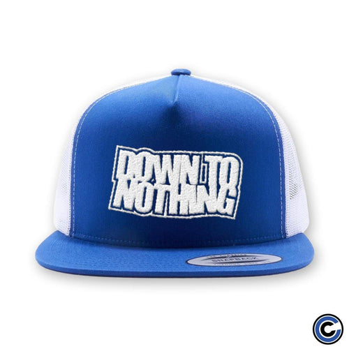 "Down To Nothing ""Stacked Logo"" Trucker Hat"