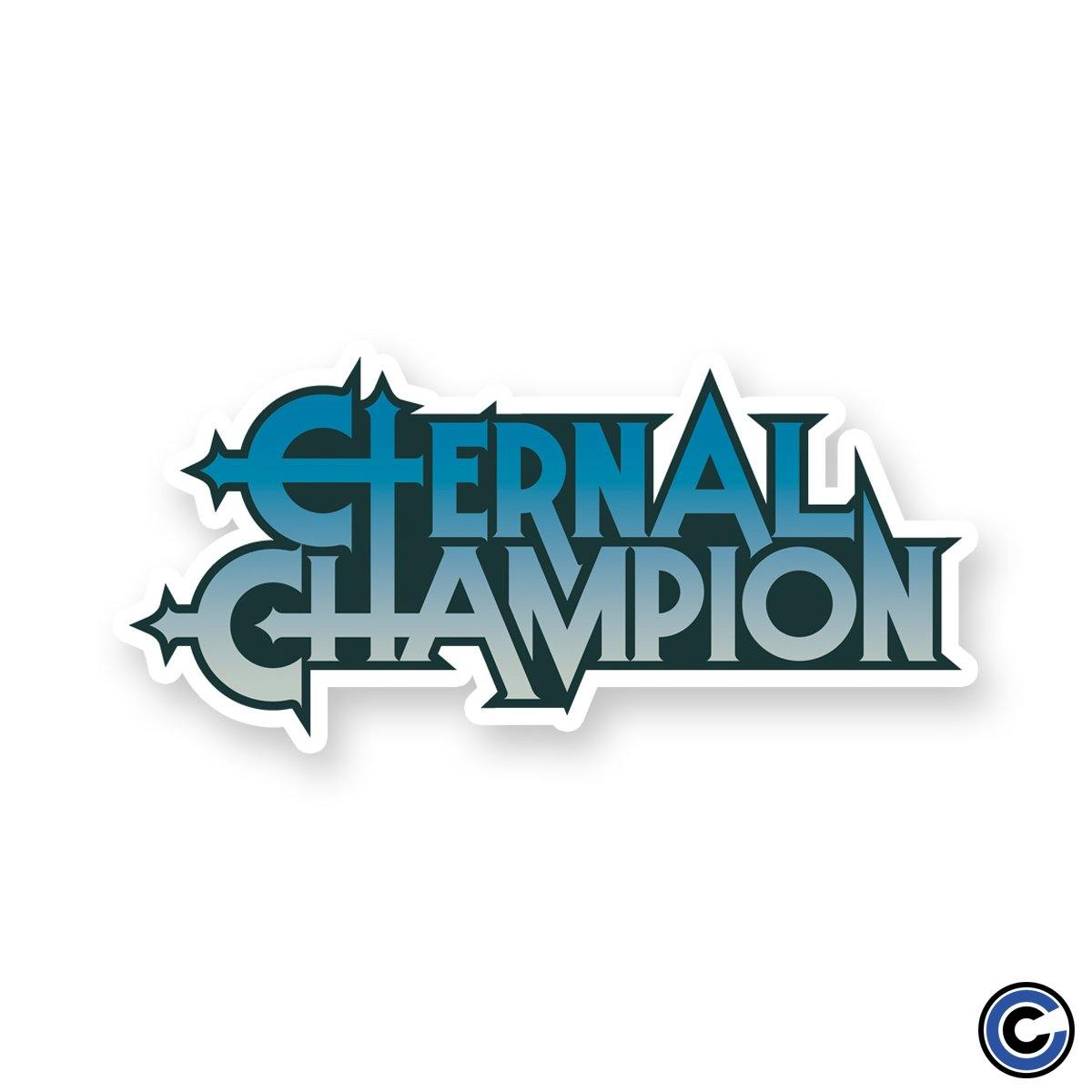 Eternal champion logo sticker