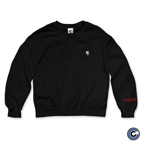 "Expire ""Lowercase Logo"" Embroidered Crewneck"