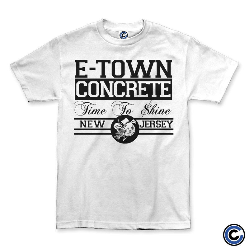 "E. Town Concrete ""Time 2 Shine"" White Shirt"