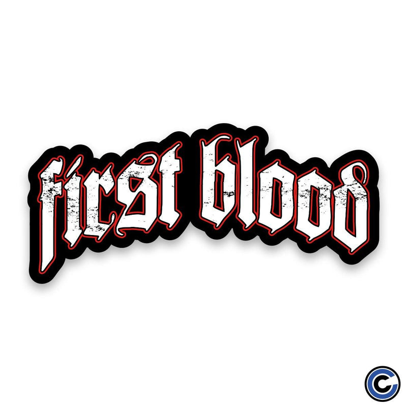 "First Blood ""Logo"" Sticker"