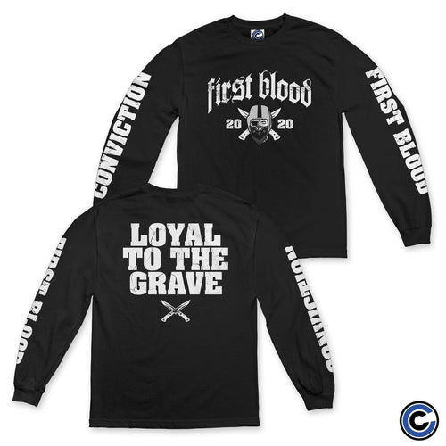 "First Blood ""Grave"" Long Sleeve"