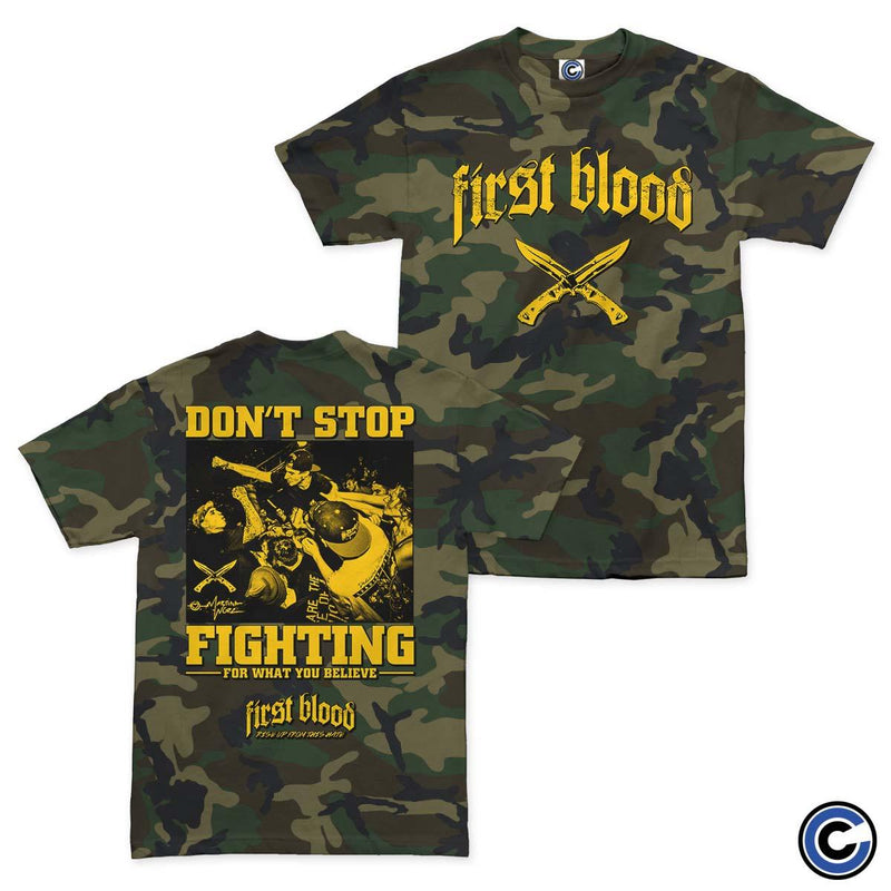 "First Blood ""Don't Stop Fighting"" Shirt"