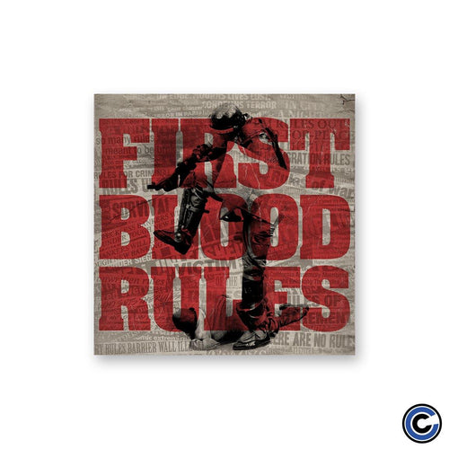 "First Blood ""Rules Headlines"" Sticker"