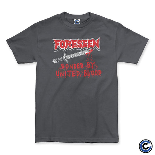 "Foreseen ""United By Blood"" Charcoal Shirt"