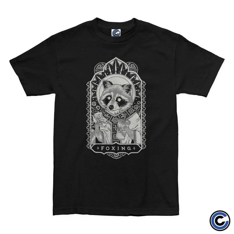 "Foxing ""Raccoon Snacks"" Shirt"
