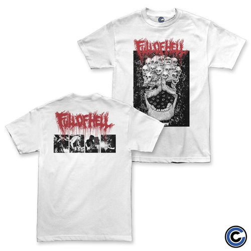 "Full of Hell ""Burst Synapse"" White Shirt"
