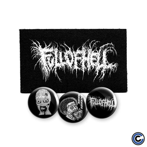 Full Of Hell Button/Patch Set