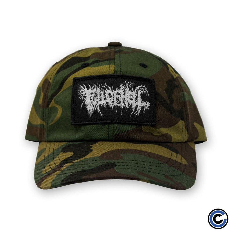 "Full of Hell ""Insect Logo"" Camo Hat"