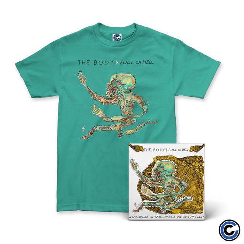 "The Body & Full of Hell ""Ascending A Mountain of Heavy Light"" LP + Shirt Bundle"