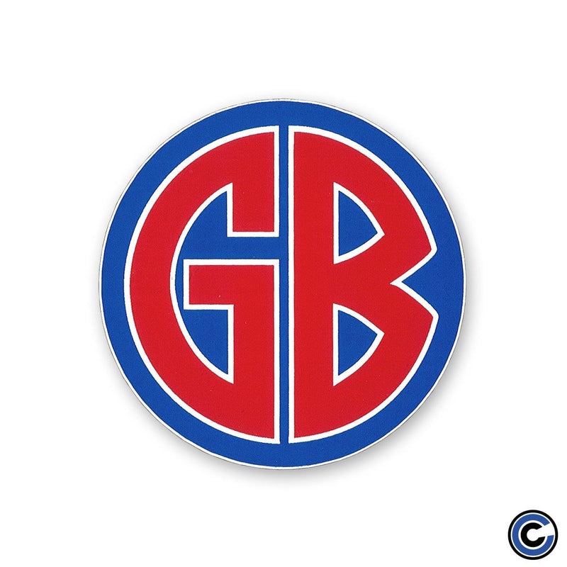 "Gorilla Biscuits ""GB"" Sticker"