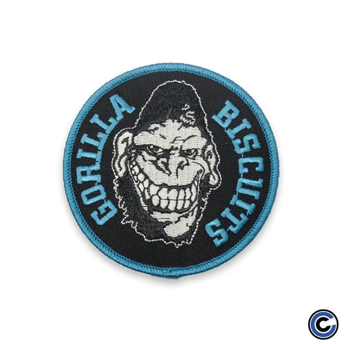 "Buy Now – Gorilla Biscuits ""Circle Blue"" Patch – Cold Cuts Merch"