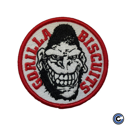 "Buy Now – Gorilla Biscuits ""Circle White"" Patch – Cold Cuts Merch"