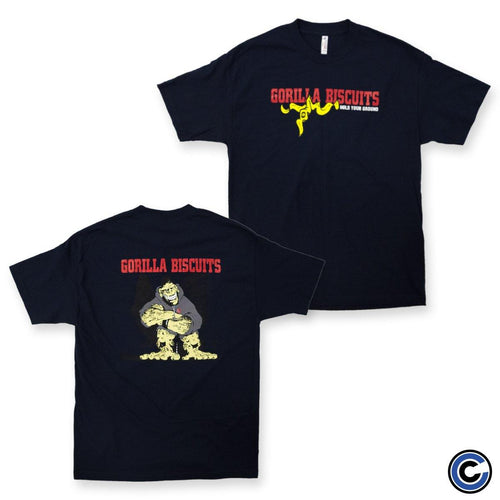 "Gorilla Biscuits ""Hold Your Ground"" Shirt"