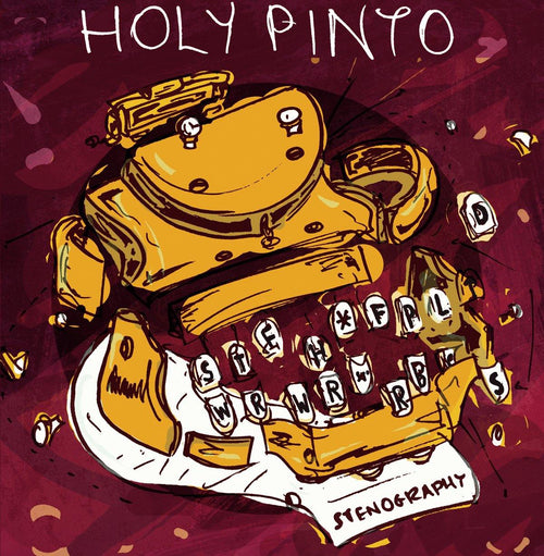 "Buy – Holy Pinto ""Stenography"" Digital Download – Band & Music Merch – Cold Cuts Merch"