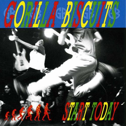 "Gorilla Biscuits ""Start Today"" Cassette"