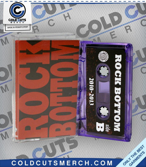 "Rock Bottom ""2010-2013"" Cassette"