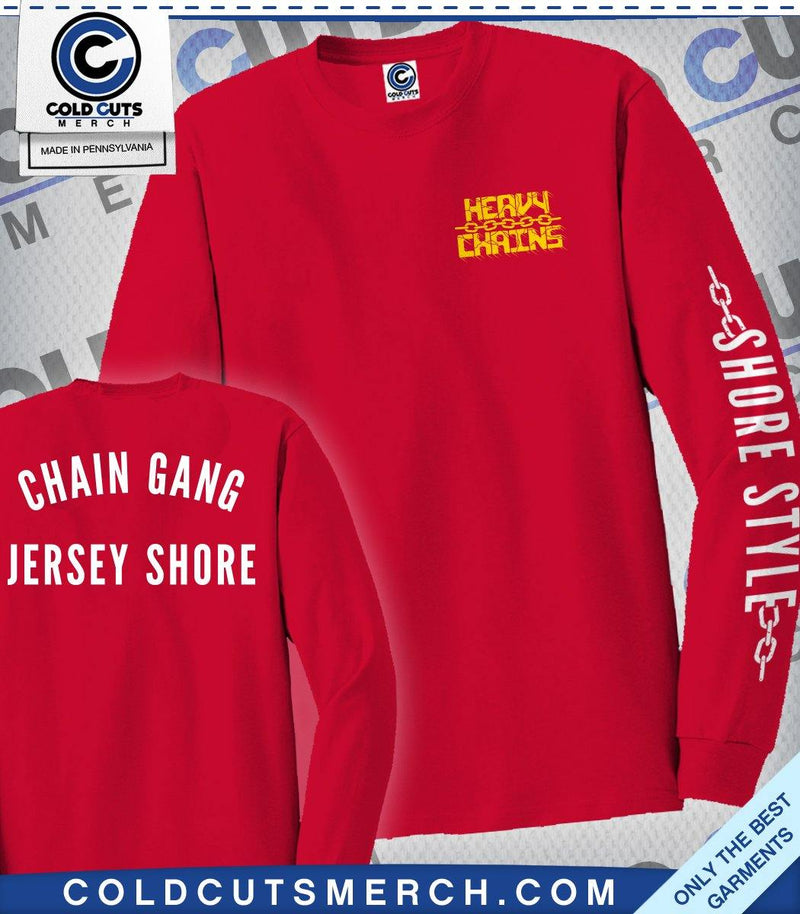 "Heavy Chains ""Chain Gang"" Long Sleeve"