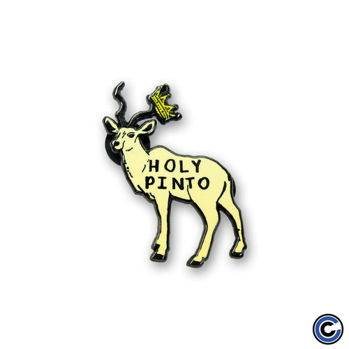 "Buy – Holy Pinto ""Deer"" Pin – Band & Music Merch – Cold Cuts Merch"