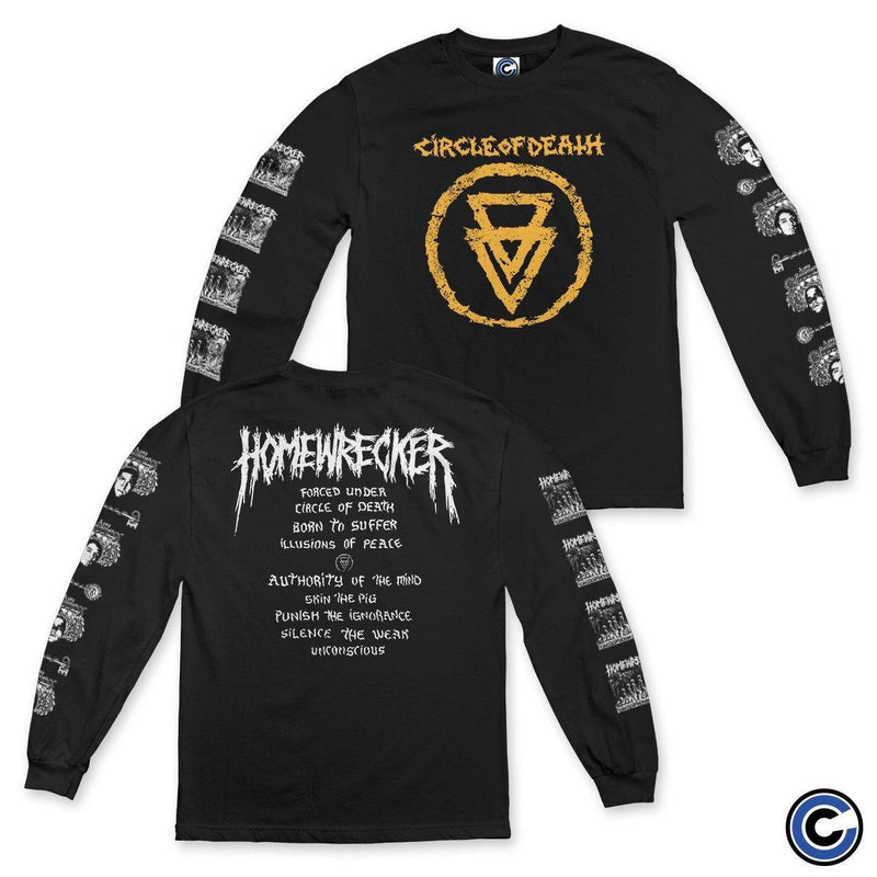 "Homewrecker ""Circle of Death"" Long Sleeve"