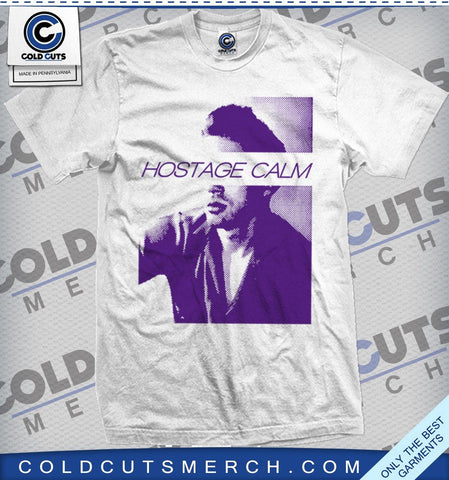 "Hostage Calm ""Hot Guy Purple"" Shirt"