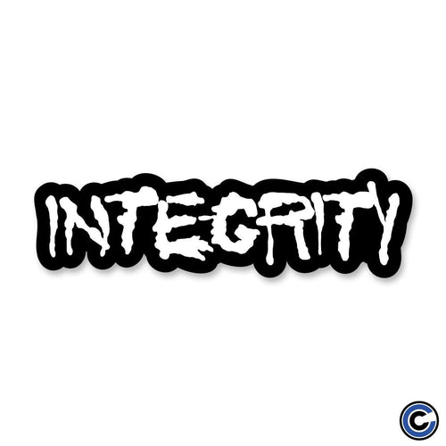 "Integrity ""Splatter Logo"" Die Cut Sticker"