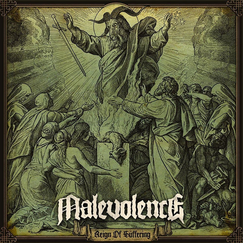"Malevolence ""Reign of Suffering"" 12"""