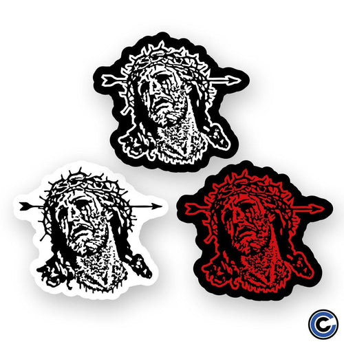"Jesus Piece ""Jesus Head"" Sticker"