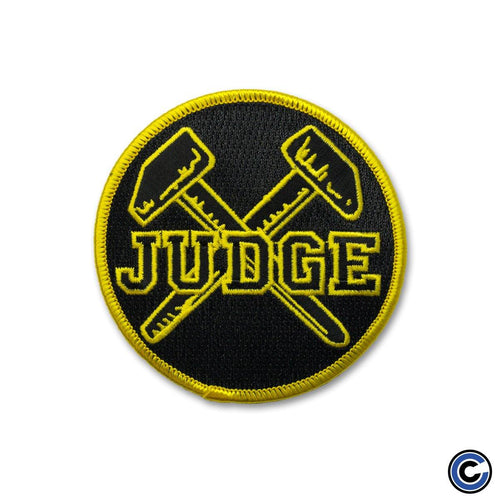 "Buy Now – Judge ""Hammers"" Patch – Cold Cuts Merch"