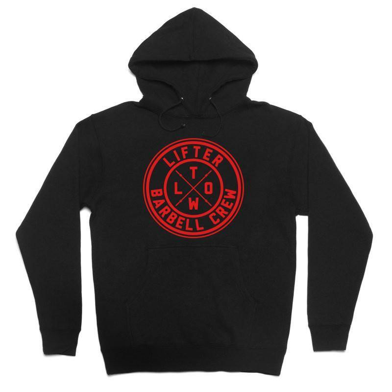 "Buy Now – Lifter ""Barbell Crew"" Hoodie – Cold Cuts Merch"