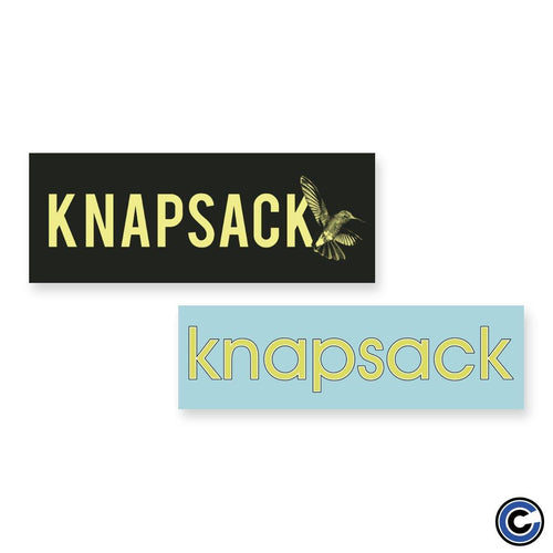 "Knapsack ""Humming Bird Logo"" Sticker Pack"