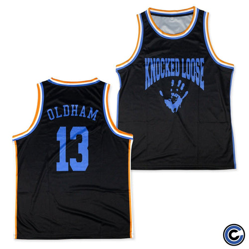 "Knocked Loose ""Hand"" Basketball Jersey"