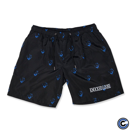 "Knocked Loose ""Hand"" Athletic Shorts"