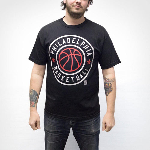 "Cracked Bell ""Philadelphia Basketball"" Shirt"