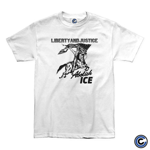 "Buy – Liberty And Justice ""Abolish Ice"" Shirt – Band & Music Merch – Cold Cuts Merch"