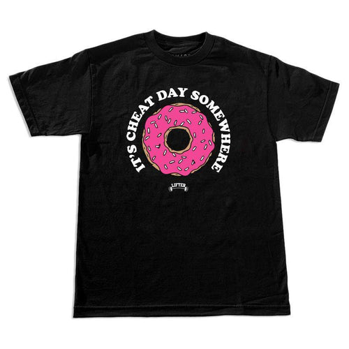 Lifter - Cheat Day Donut T-Shirt