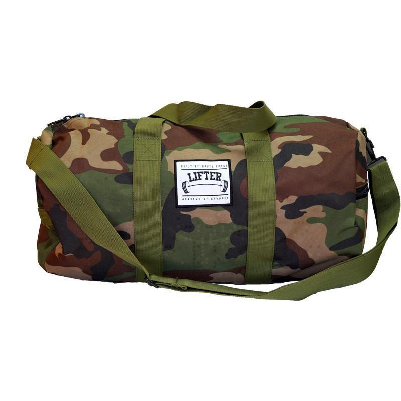 Lifter - Small Camo Gym Bag