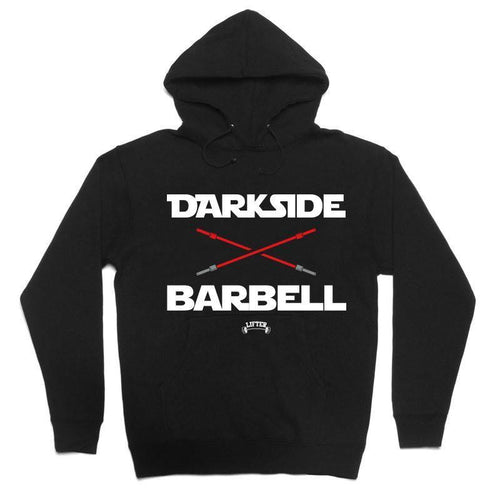 "Buy – Lifter ""Darkside Barbell"" Hoodie – Band & Music Merch – Cold Cuts Merch"