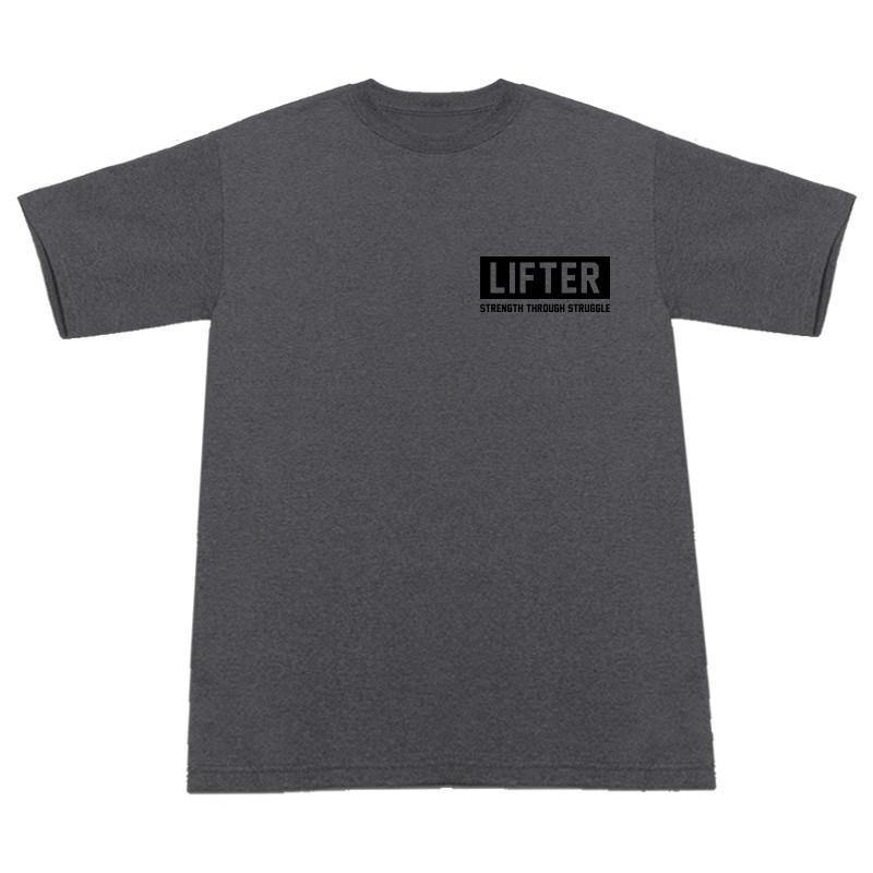 Lifter - Diamond Charcoal T-Shirt Front