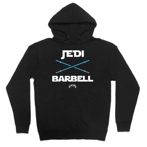 "Buy – Lifter ""Jedi Barbell"" Hoodie – Band & Music Merch – Cold Cuts Merch"