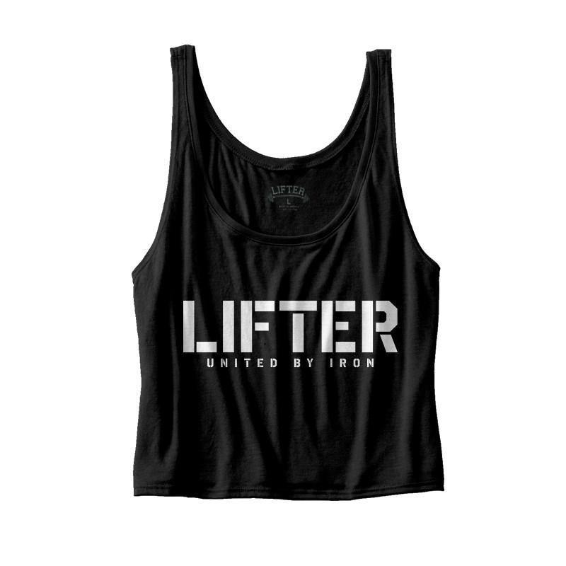 "Lifter ""United By Iron"" Flowy Tank"