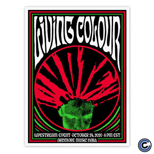 "Living Colour ""Vote"" Poster"