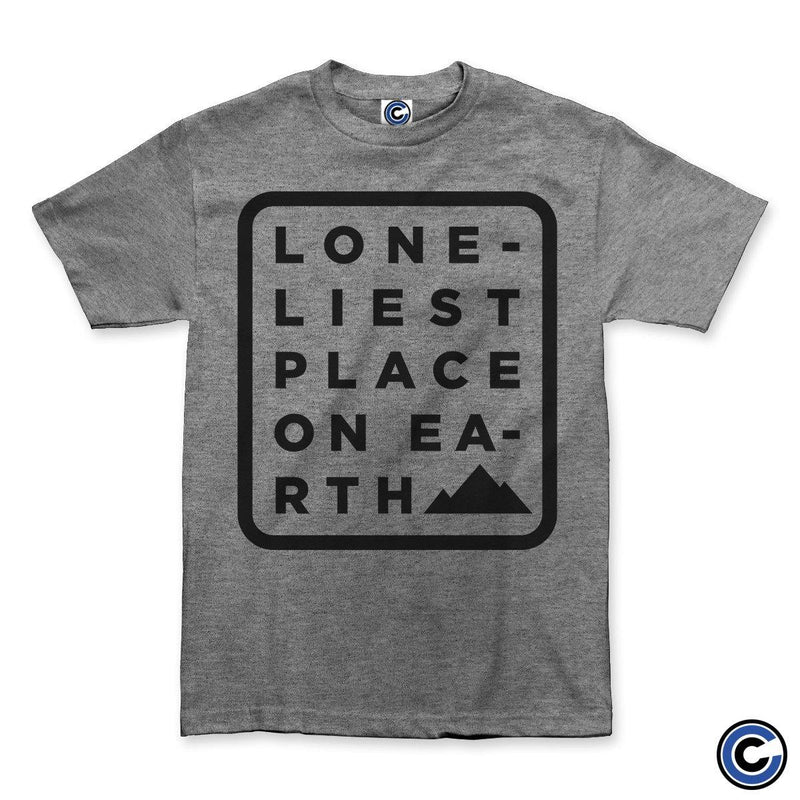 "Loneliest Place On Earth ""Label Logo"" Shirt"