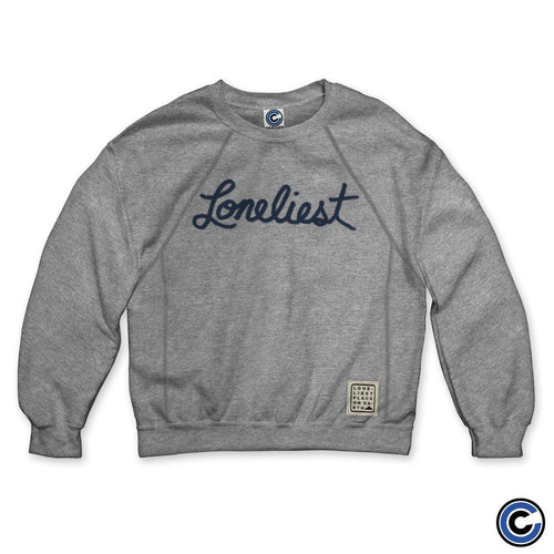 "Loneliest Place On Earth ""Script"" Crew Neck"