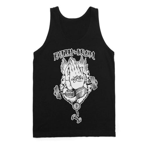 "Buy – Lifter ""Faith In Iron"" Tank Top – Band & Music Merch – Cold Cuts Merch"